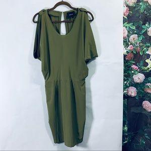 Ark & Co green dress